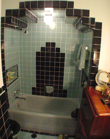 project  art deco bathroom